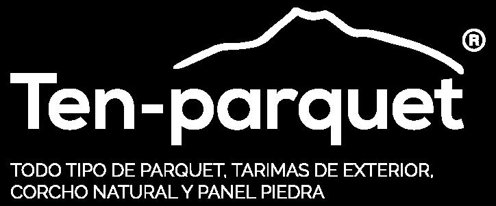 Logo blanco Ten Parquet