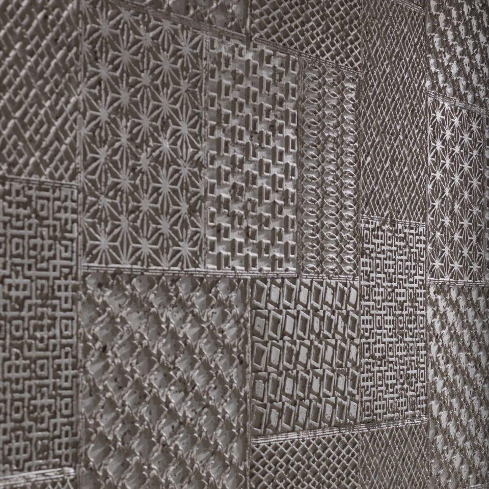 Panel Piedra Cemento Geometrico