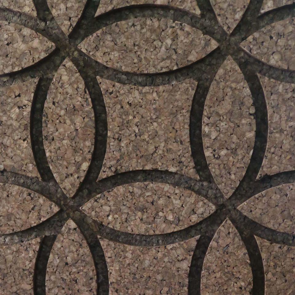 Corcho negro decorativo Circles
