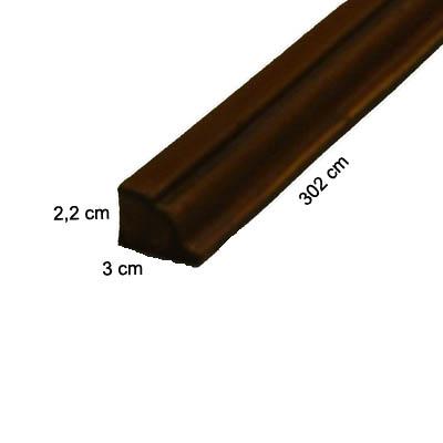 Cornisa de poliuretano para paneles imitacion madera