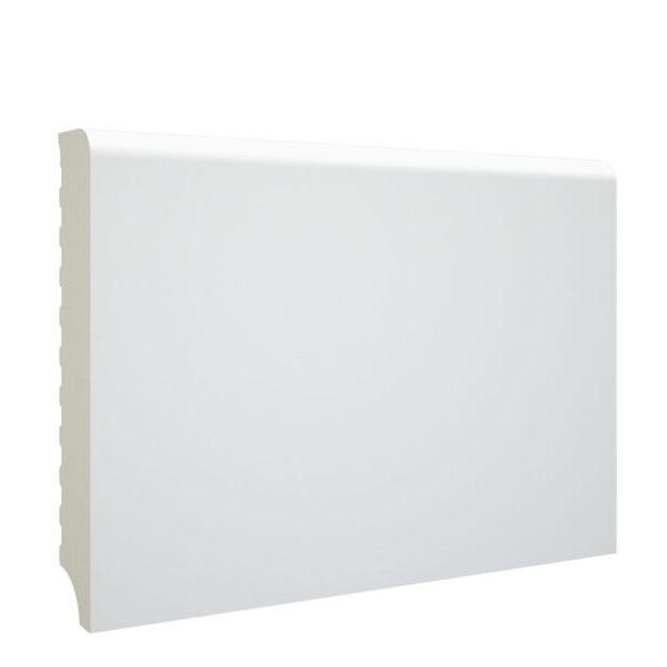 Rodapie PVC Espumado Blanco