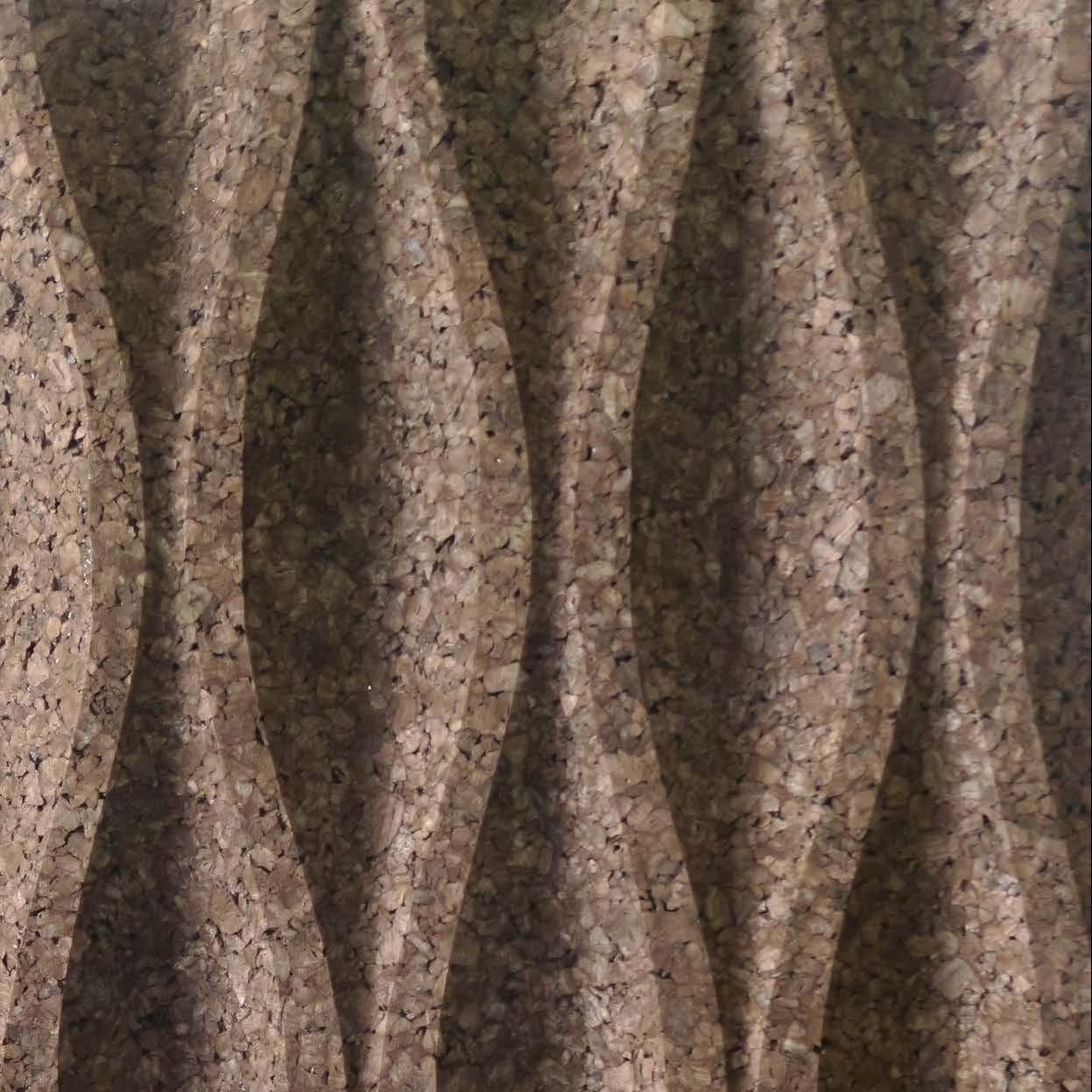 Corcho negro decorativo Wave L1