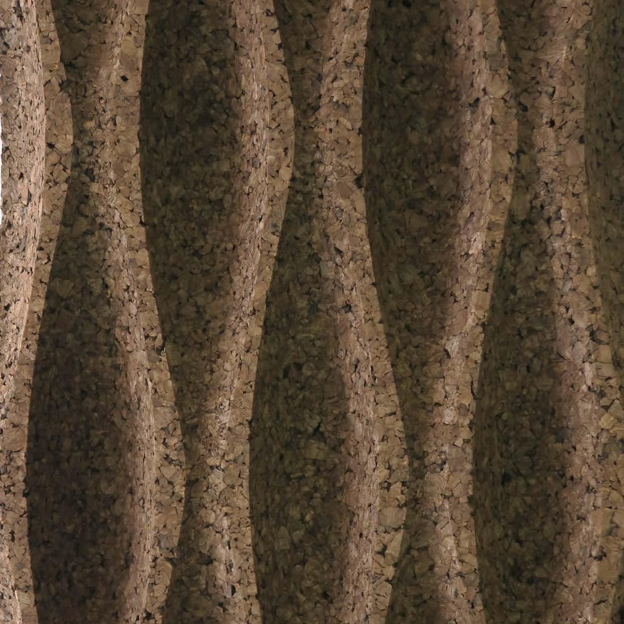 Corcho negro decorativo Wave L2